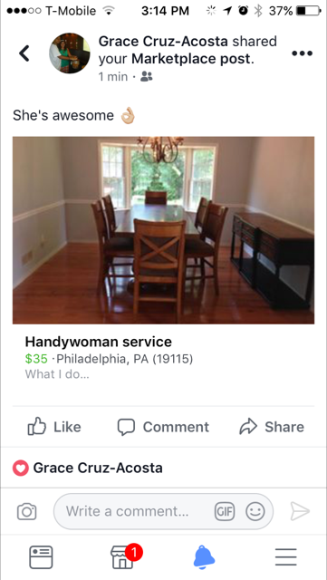 Handywoman, reference